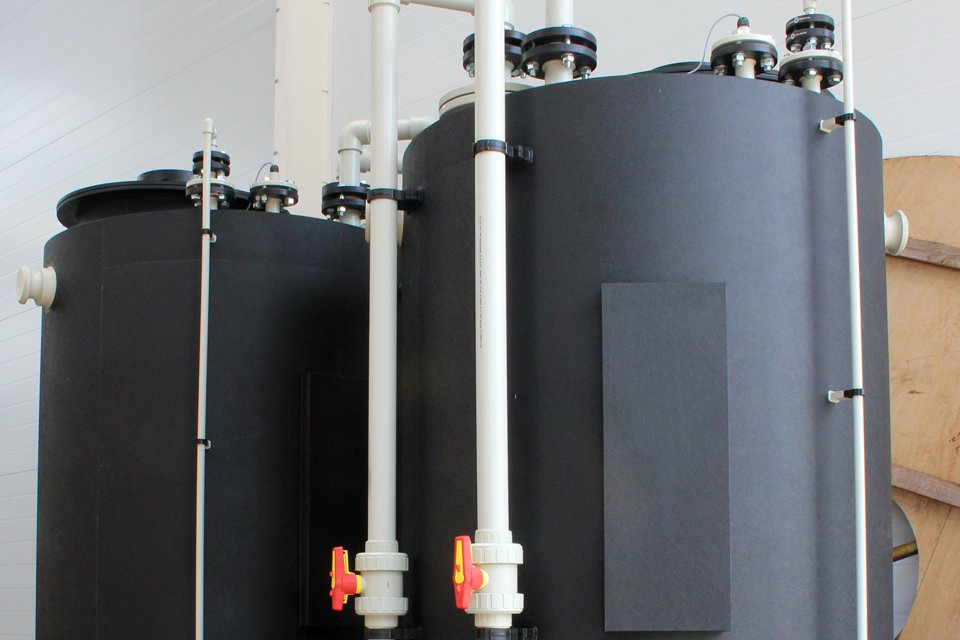 Bulk Thermoplastic Storage Tanks
